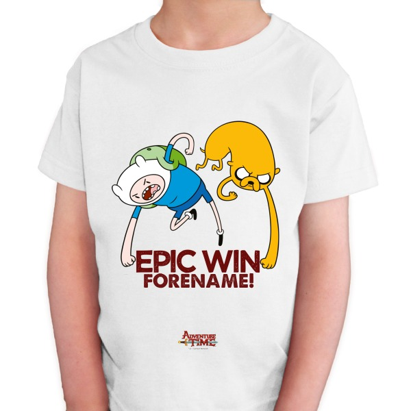 Adventure Time Epic Win Kids T-shirt