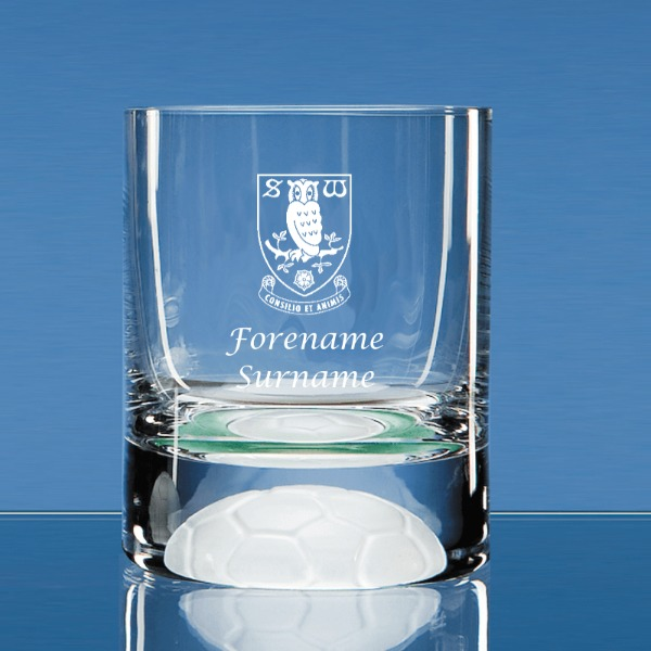 Sheffield Wednesday FC Crest Ball Base Tumbler