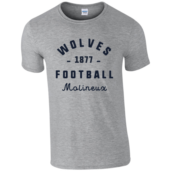 Wolves Stadium Vintage T-Shirt