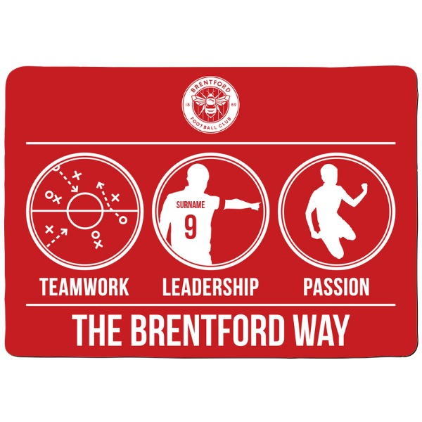 Brentford FC Way Floor Mat