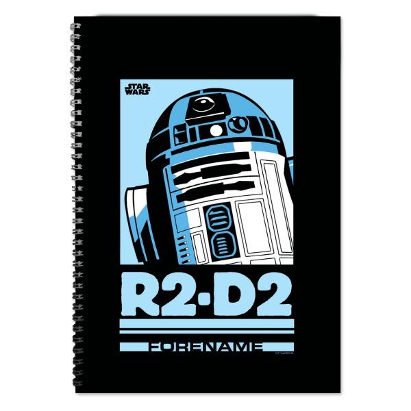 Star Wars R2 D2 Pop Art A4 Notebook