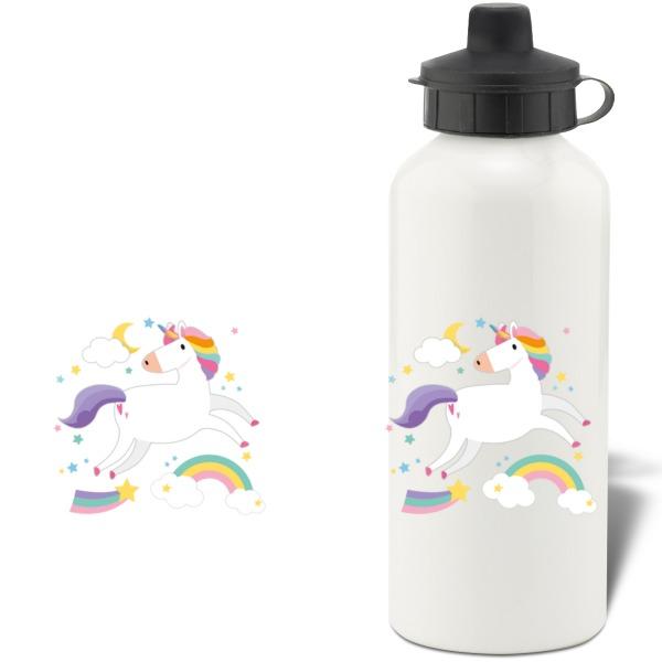 Unicorn Aluminium Water Bottle