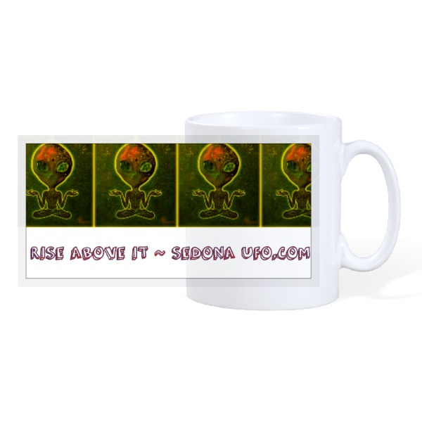 Rise Above It - 10oz Ceramic Mug