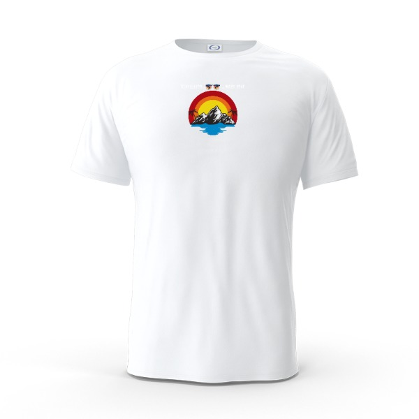 Travelling ... Next Year T-Shirt - Mens Solar Short Sleeve Small Print Area