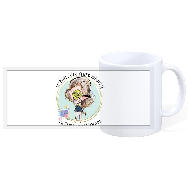 Focus - 11oz Ceramic Mug