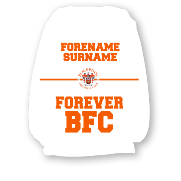 Blackpool Forever Headrest Cover