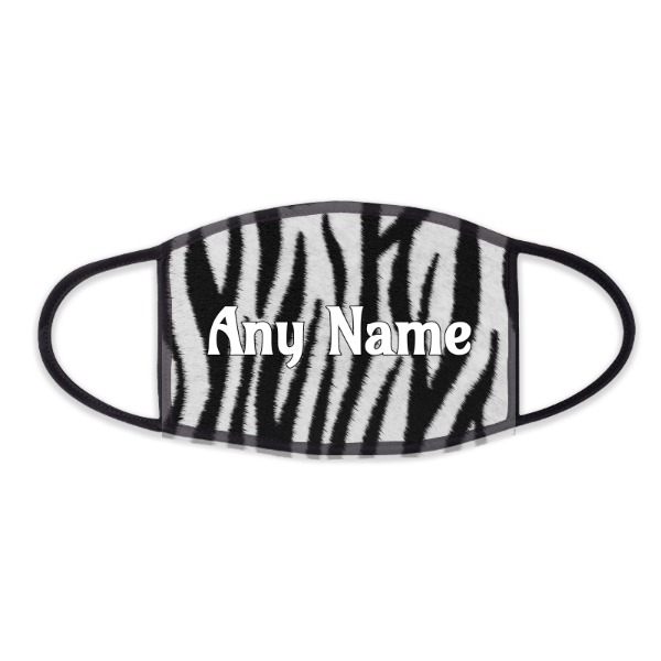 Zebra Pattern Design - Face Mask- Small