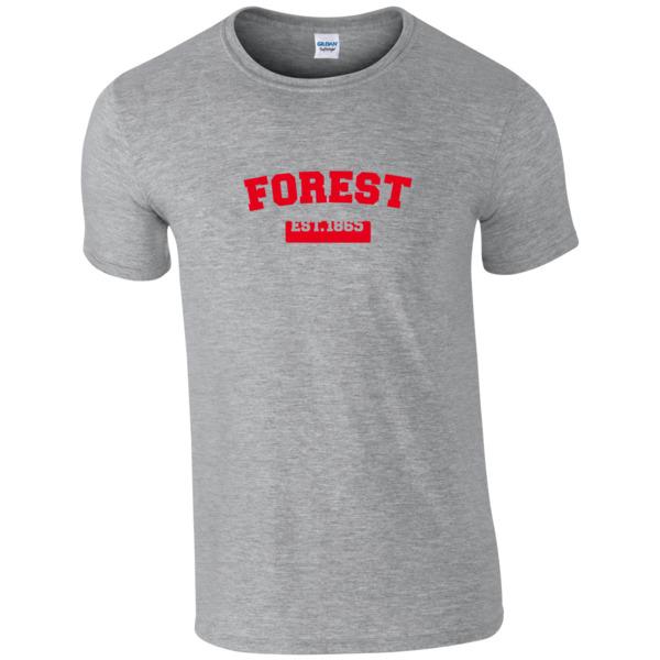 Nottingham Forest FC Varsity Established T-Shirt
