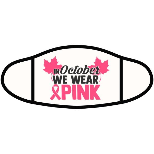 Wear Pink Mask - Face Mask- Small