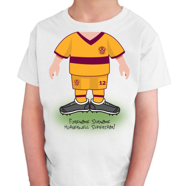 Motherwell FC Kids Use Your Head T-Shirt