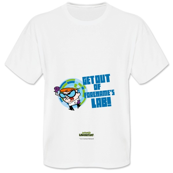 Dexter's Lab Get Out Mens T-shirt