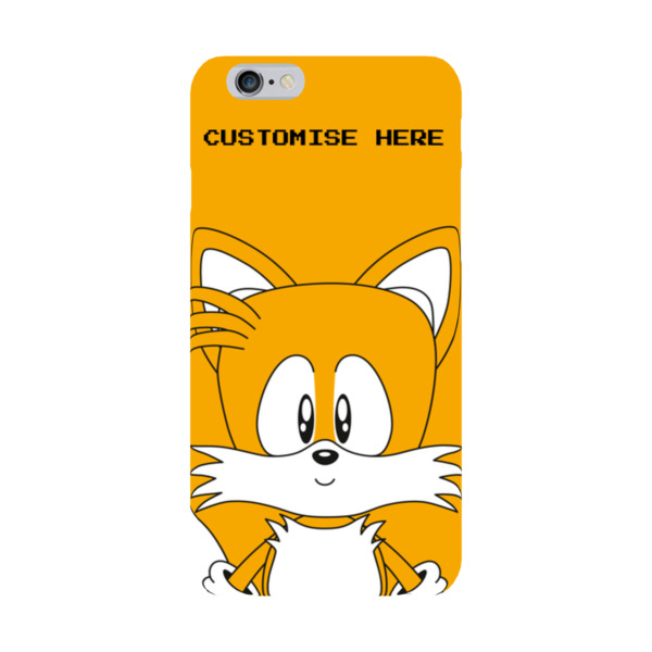 iPhone 6/6S Case - Tails Face - Classic Sonic
