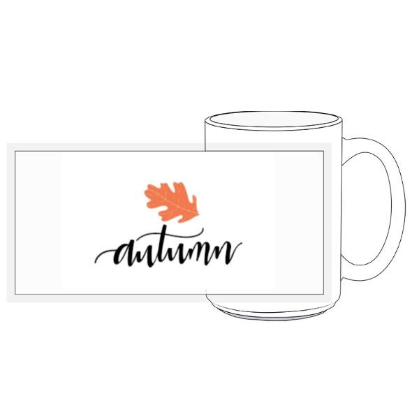 Autumn Mug - 15oz Ceramic Mug