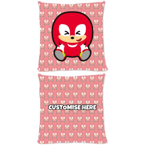 Microfibre Cushion - Emoji Knuckles - Modern Sonic