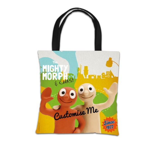 Aardman Morph The Mighty Morph & Chas Tote Bag