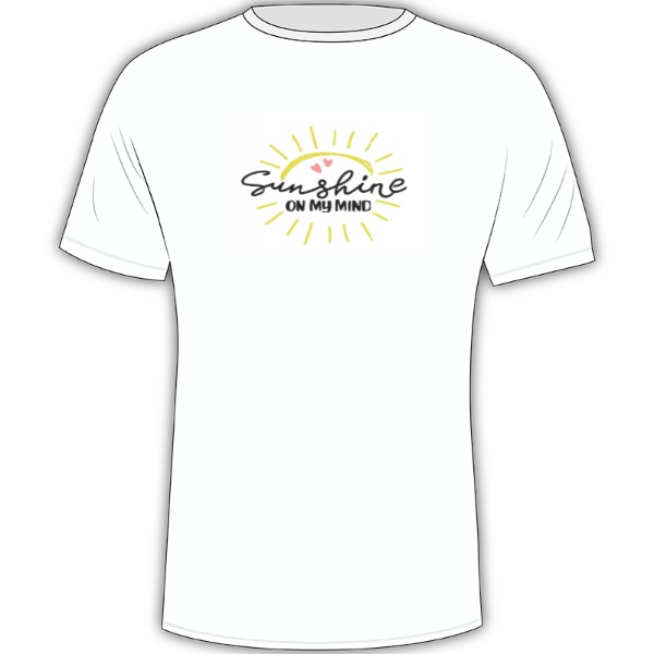 t.-shirt - Mens Solar Short Sleeve Small Print Area