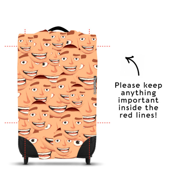 Faces All Over - Caseskin - M