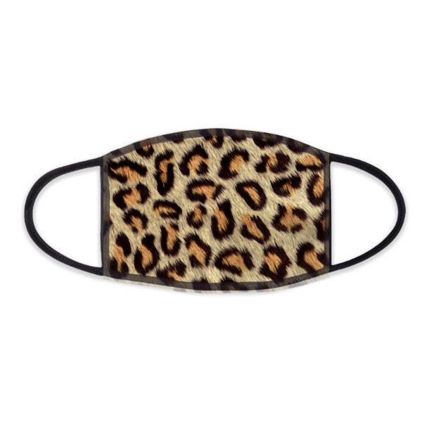 Tiger Pattern  Design - Face Mask- Small