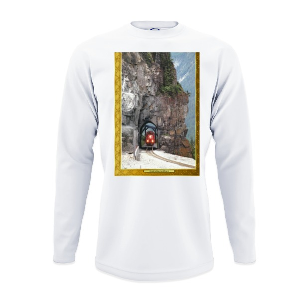 Mens Solar Long Sleeve Large Print Area