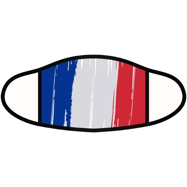 Masque de drapeau français - Face Mask- Small