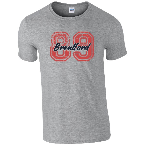 Brentford FC Varsity Number T-Shirt