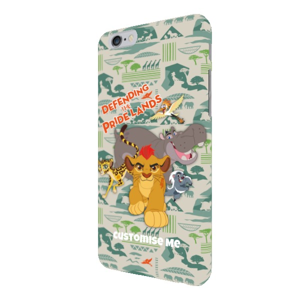 Disney The Lion Guard Group Defending The Pride Lands iPhone 6/6s Clip Case