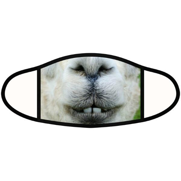 Llama mask - Face Mask- Large