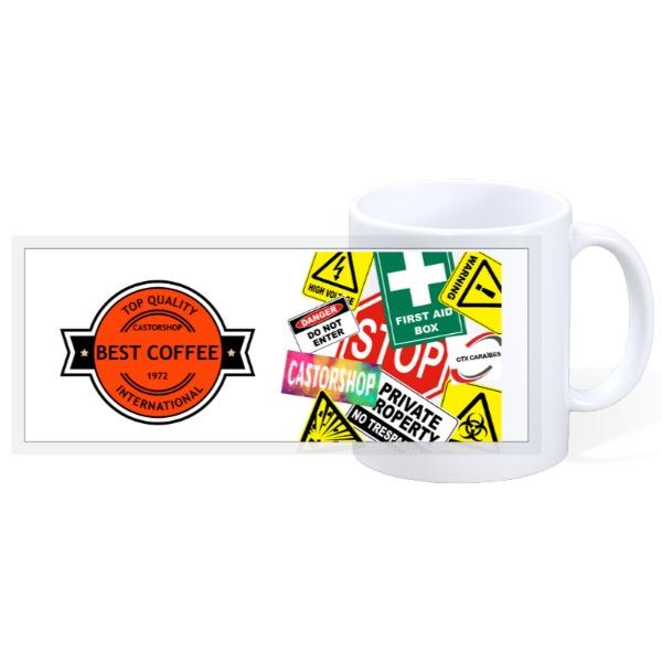 Best Coffee - 11oz Ceramic Mug