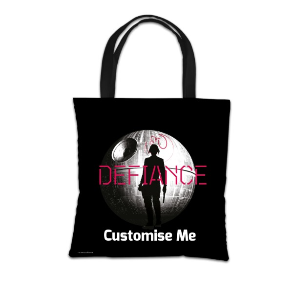 Star Wars Rogue One Defiance Tote Bag