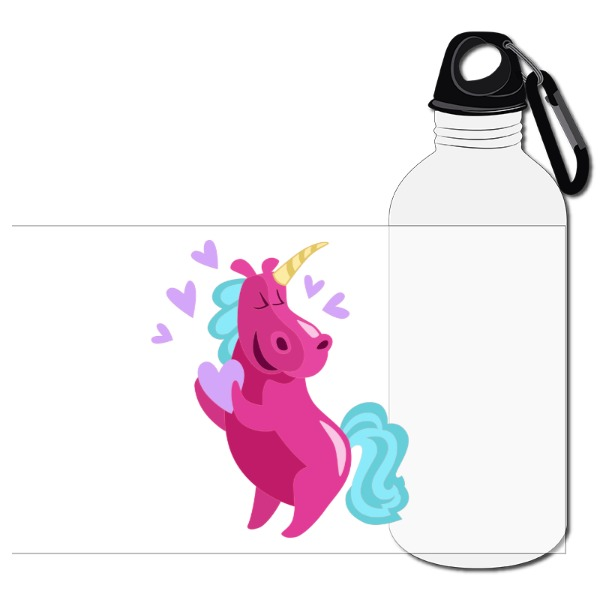 HEART DANCING UNICORN TRAVEL BOTTLE - Travel Bottle