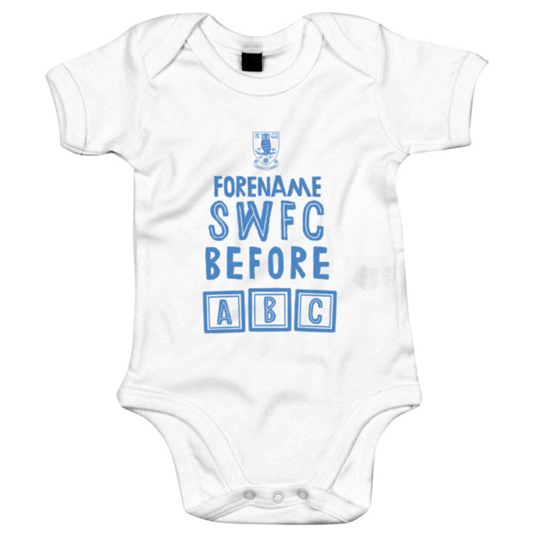 Sheffield Wednesday FC Before ABC Baby Bodysuit