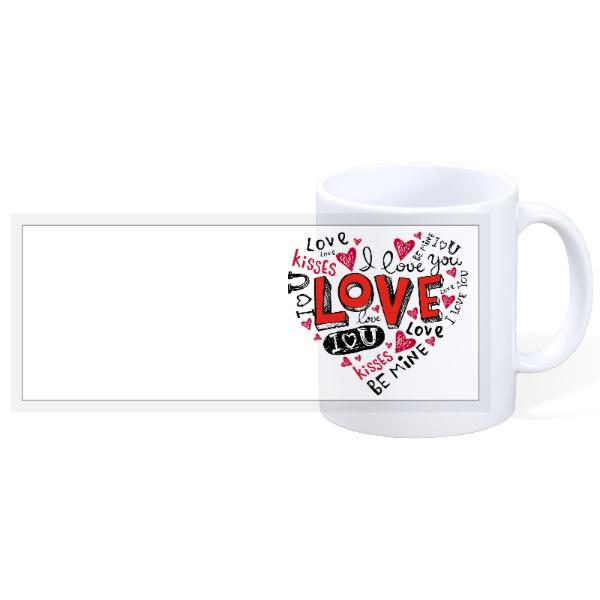 I Love You - 11oz Ceramic Mug