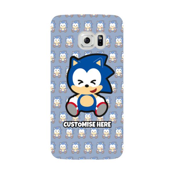 Samsung Galaxy S6 EDGE Phone Case - Sonic Emoji - Modern sonic