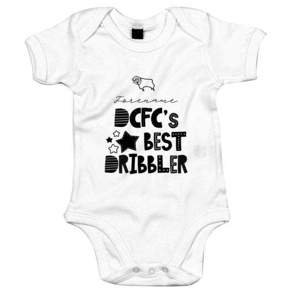 Derby County Best Dribbler Baby Bodysuit
