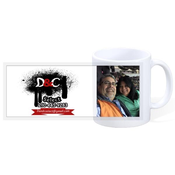 D & C cup - 11oz Ceramic Mug