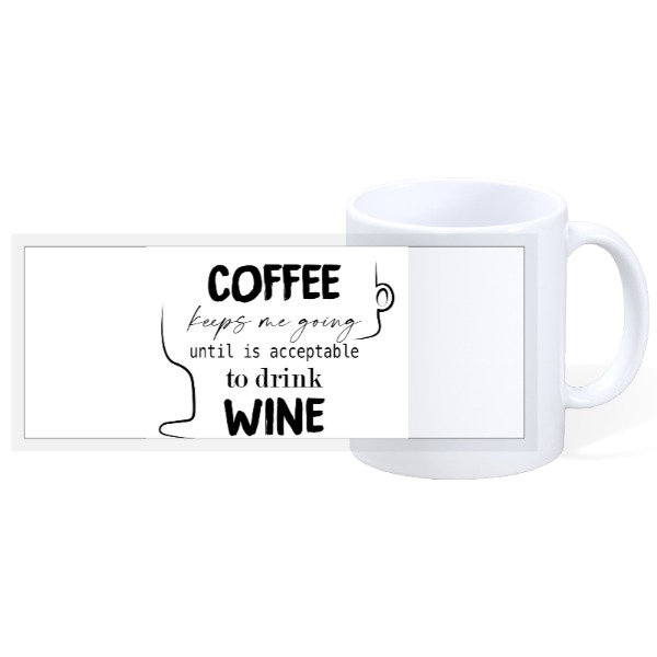 Coffee  - 11oz Ceramic Mug