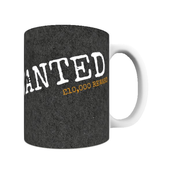 "Aardman Wallace And Gromit Feathers ""Wanted"" Mug"