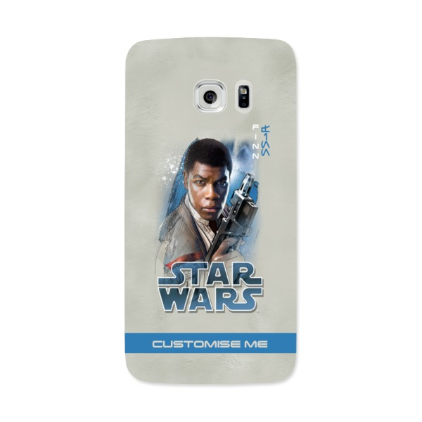 Star Wars Finn Last Jedi Spray Paint Samsung Galaxy 7 Edge Phone Case
