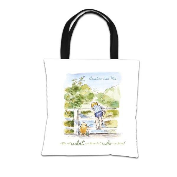 Disney Winnie The Pooh Bridge Tote Bag