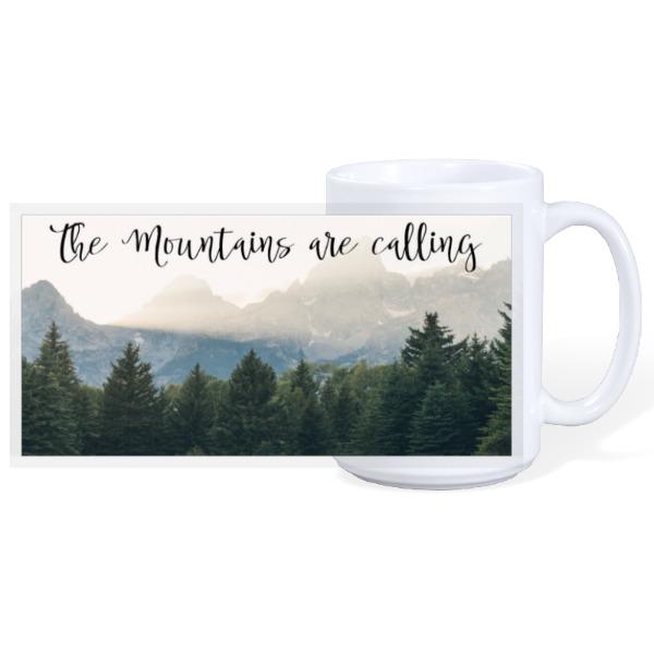 Mountain Mug - 15oz Ceramic Mug