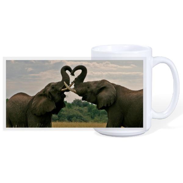 Elephant Mug - 15oz Ceramic Mug
