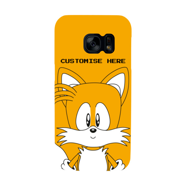 Samsung Galaxy S7 Phone Case - Tails Face - Classic Sonic