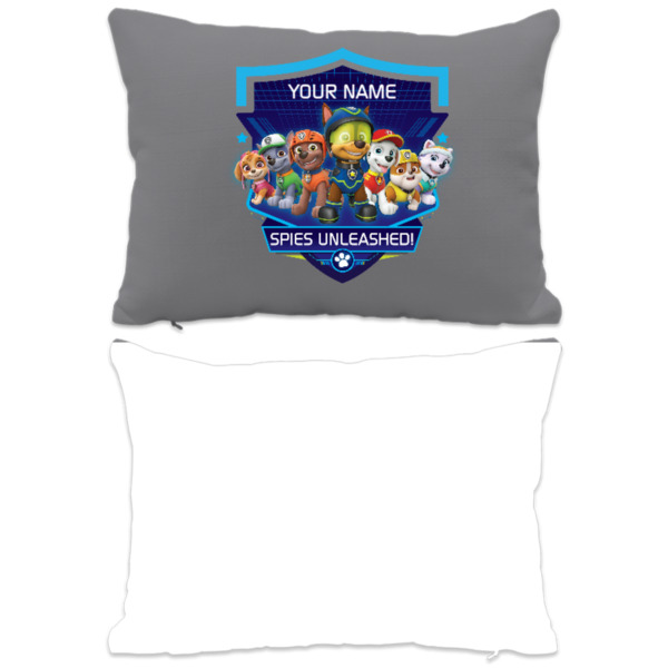 Paw Patrol Personalised Cushion - Spies Unleashed