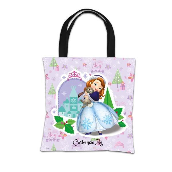 Disney Sofia The First Christmas Design Tote Bag