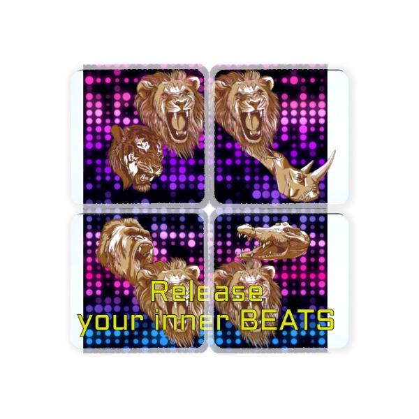 Square Coaster Set