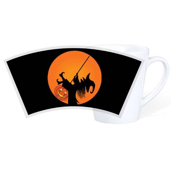 Happy Halloween - 12oz Ceramic Latte Mug