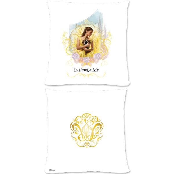 Disney Beauty and the Beast Belle 'Mirror' Small Fiber Cushion