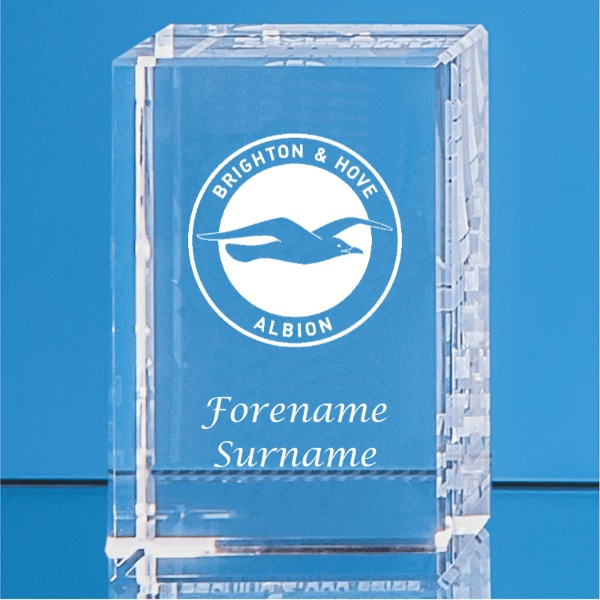 Brighton & Hove Albion FC Crystal Rectangle
