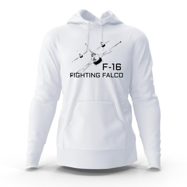 F-16/MAKEMY DAY - Hoody Sweatshirt Small Print Area