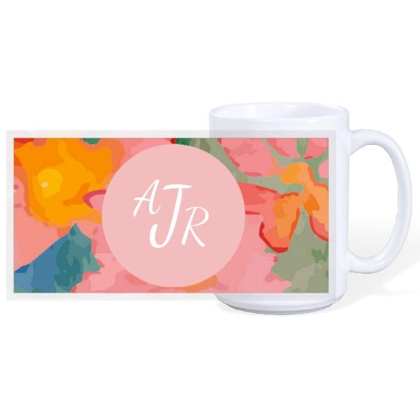 Mug monogramme - 15oz Ceramic Mug